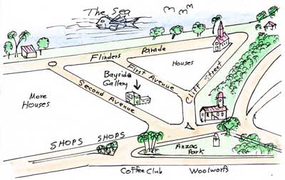 Map of Sandgate