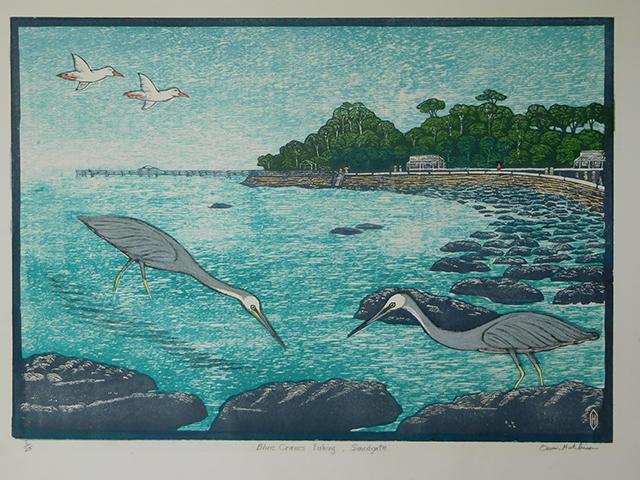 Blue Cranes Fishing - Sandgate